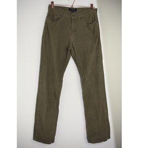 Banana Republic 32/34 Straight Leg Corduroy Pants